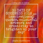 30 Days of Goodness is back from 1st August!