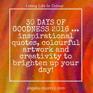 30 days of goodness