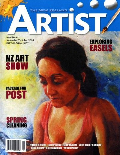 NZ Artist Sept Oct 2014