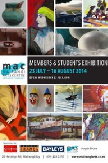 mairangi members and students exhibition